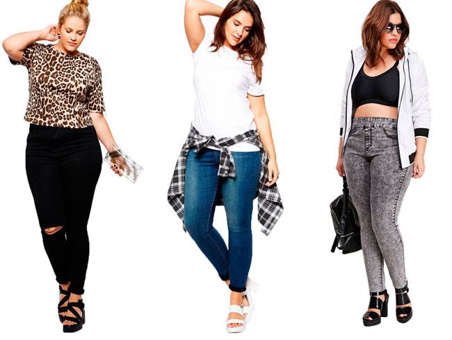 How to wear skinny jeans if you're a curvy girl