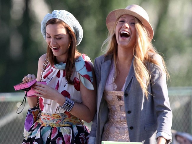 Everyone's favourite Gossip Girl duo are still BFFs in real life