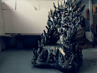 There is an Iron Throne made entirely of dildos