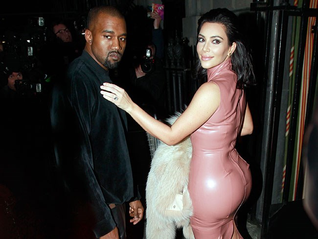 Kanye West lost his shit over Kim Kardashian's weight