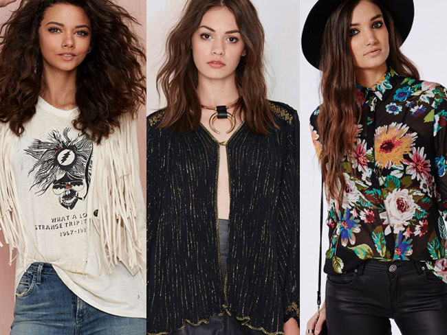 Add to cart: these HOT '70s pieces