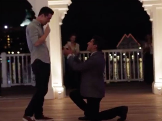 Watch the most adorable proposal from a real-life Prince Charming