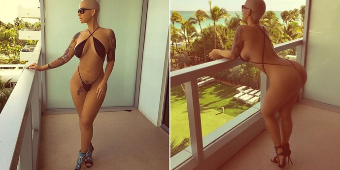 Everyone needs a g-string monokini in their life. Just ask Amber Rose.