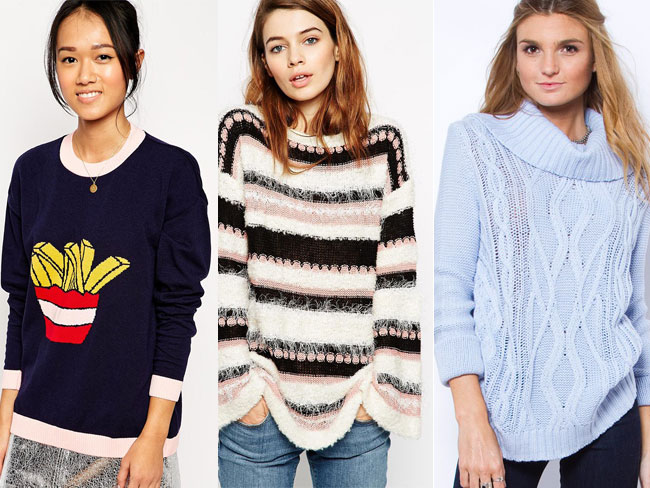 Cool jumpers to keep you cosy