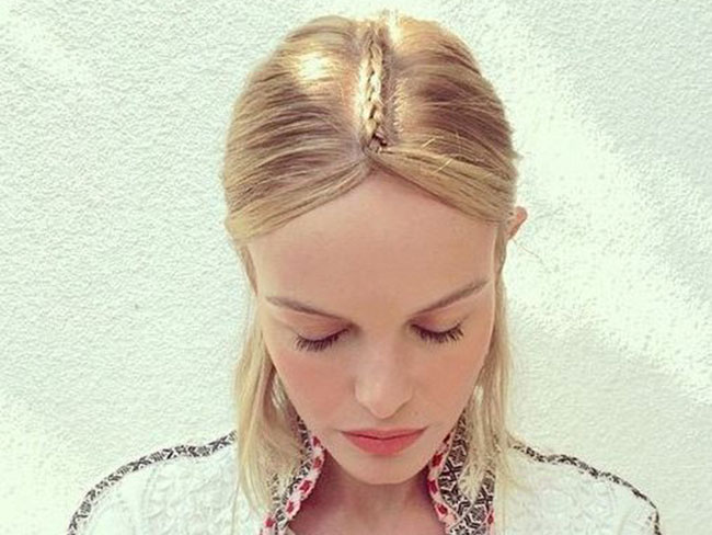 The lazy girl's guide to Kate Bosworth's Coachella braid
