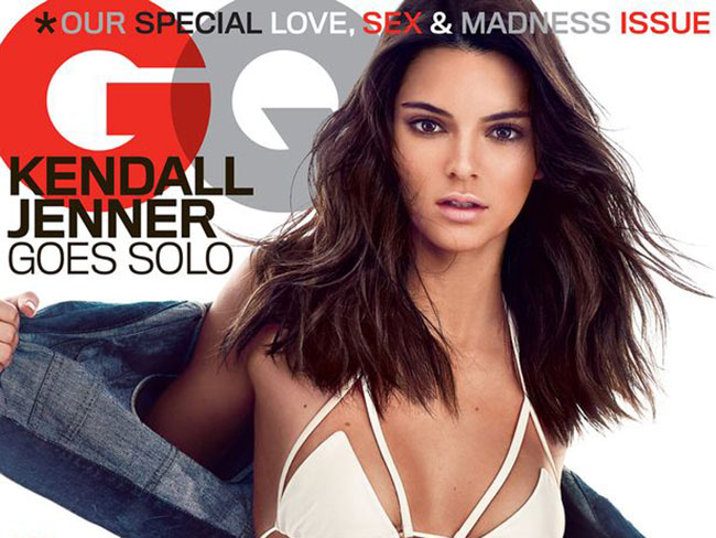 Kendall Jenner gets her underboob out for GQ magazine