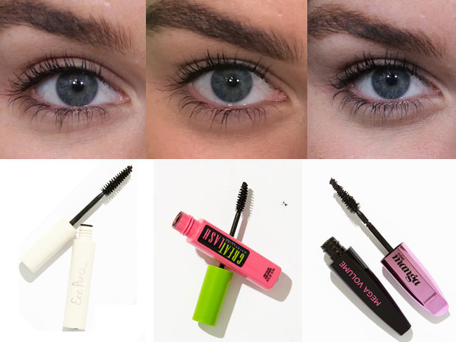 14 of the best mascaras tested on one eye