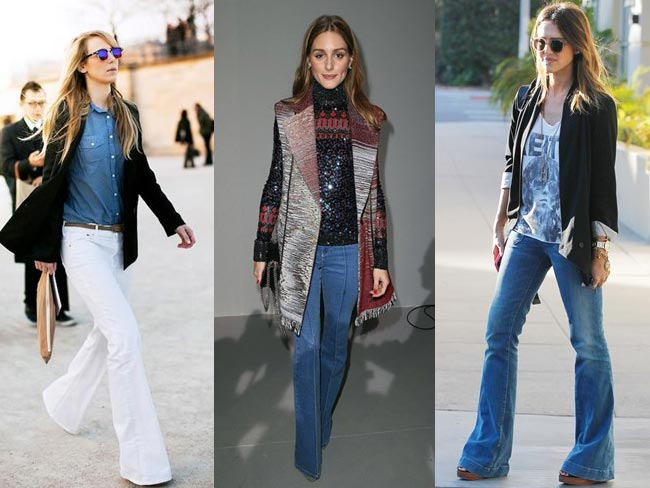 Flares are back and here's how to wear them