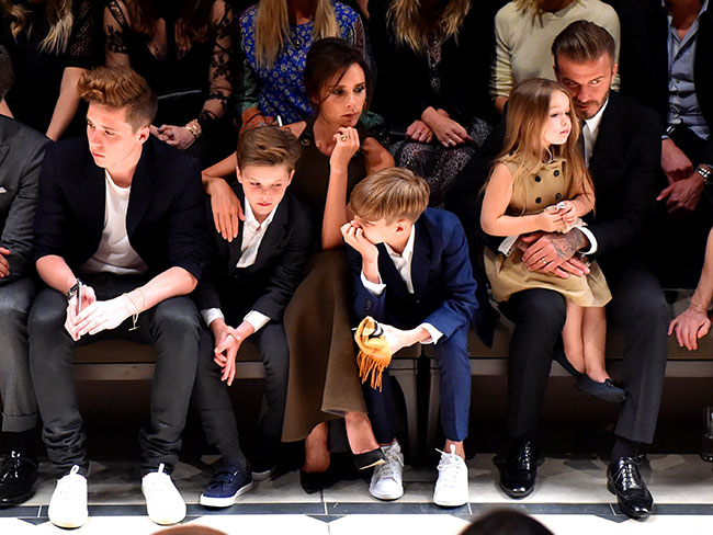 Everyone was at the 'Burberry in LA' fashion show