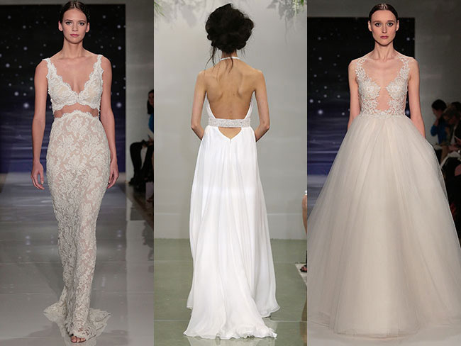 17 sexy dresses from Bridal Fashion Week