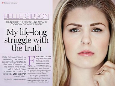 Belle Gibson opens up