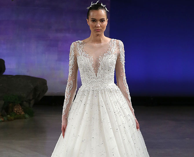 Princess dresses from Bridal Fashion Week