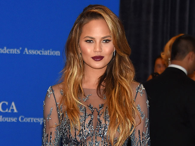 Chrissy Teigen is done editing her selfies