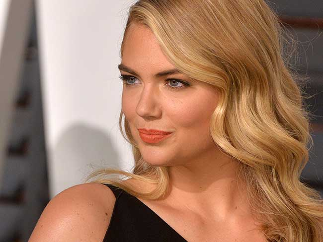 This is exactly what Kate Upton eats every day