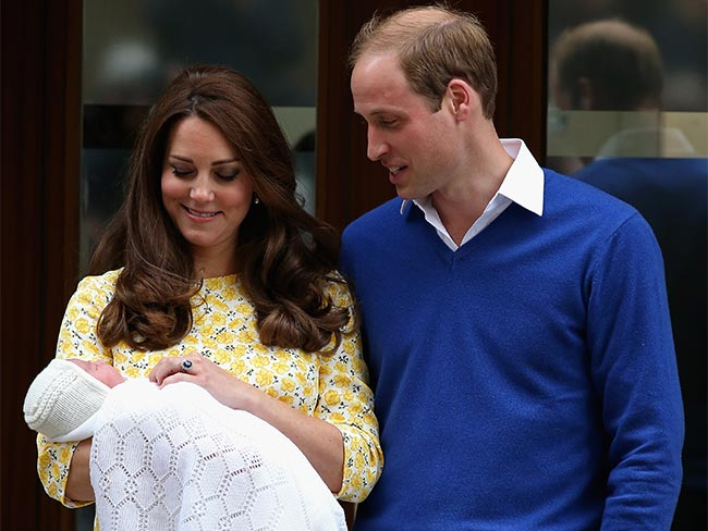 The pictures are here! First look at the new royal baby