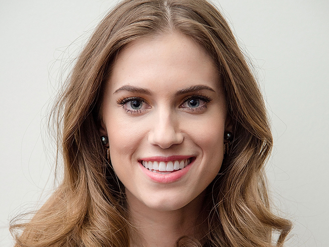 You won't believe Allison Williams' makeover