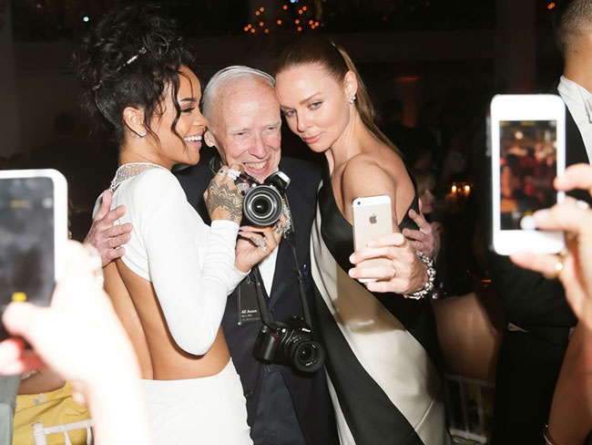 Selfies have been banned inside the Met Gala