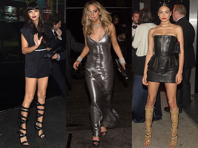The Met Gala after party fashion was even sexier