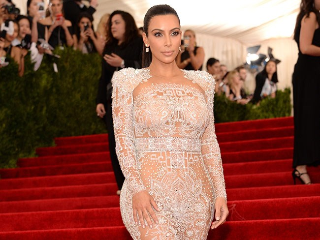 Kim Kardashian clears the air about her Beyoncé dress