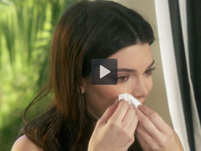 Kendall gets emotional as Bruce tells her about transition