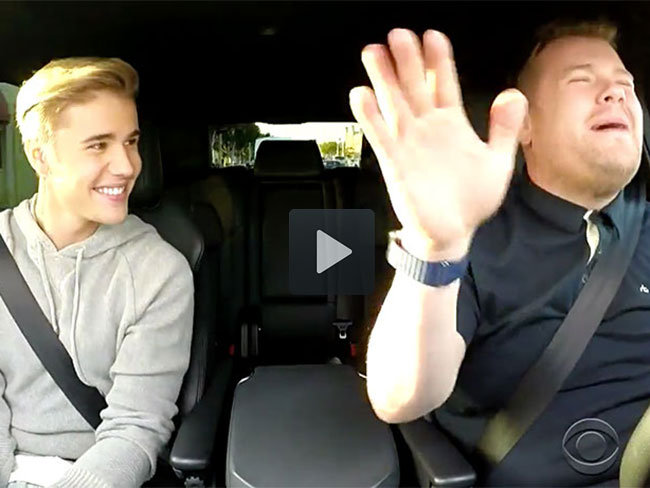 James Corden just made us LOVE Justin Bieber