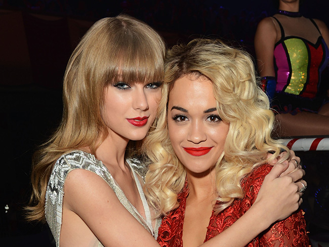 Rita Ora says she's got no bad blood with Taylor Swift