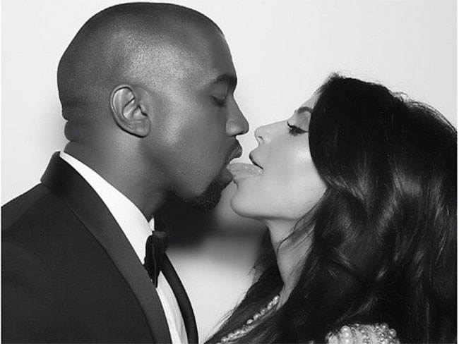 Kris Jenner shares video of Kim and Kanye's first dance