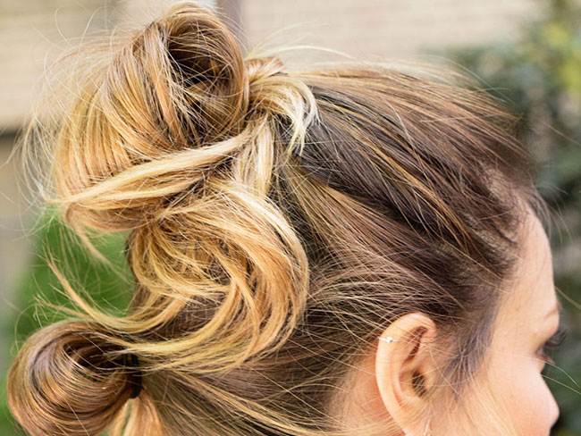 11 ways to make your bun look less basic