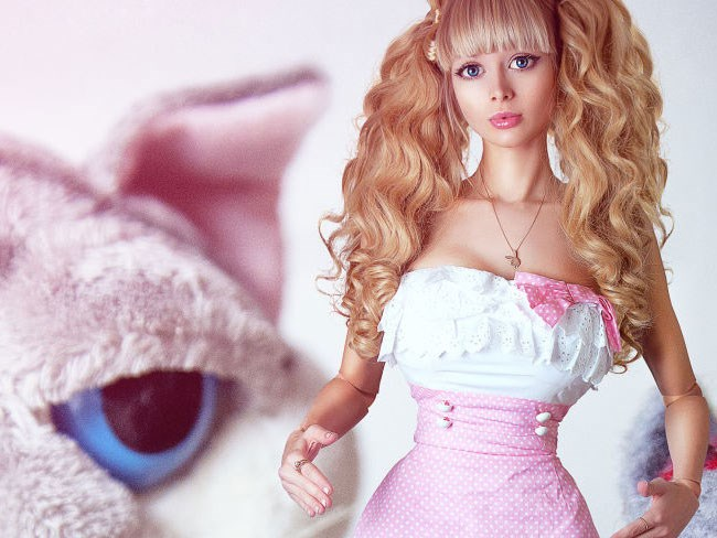 This is the worst 'human barbie' story yet