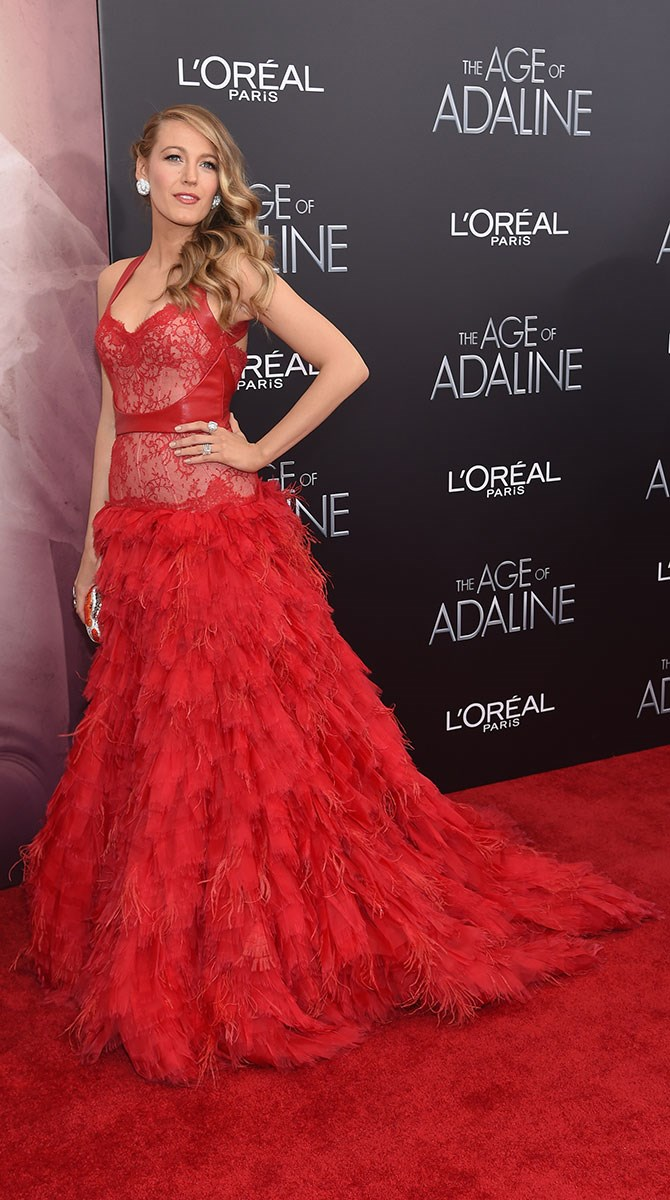 This *Moulin Rouge*-esque gown really ruffled our fashion feathers – in a good way.