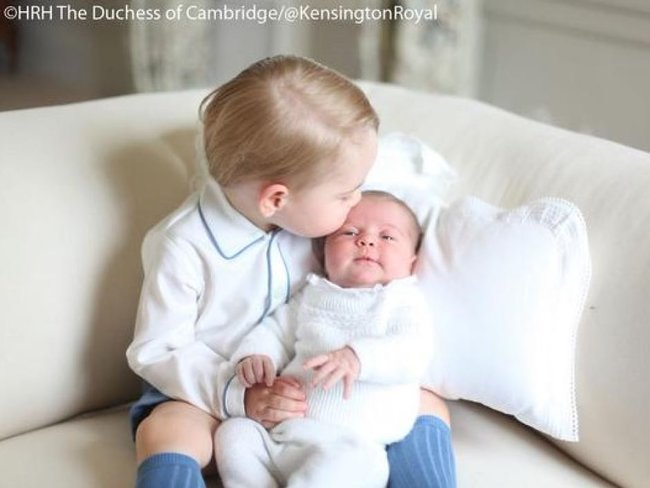 The official photos of Princess Charlotte are here and they're SO FREAKING GORGEOUS