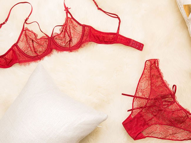 I wore lingerie to bed for 7 nights — and my sex life went bonkers