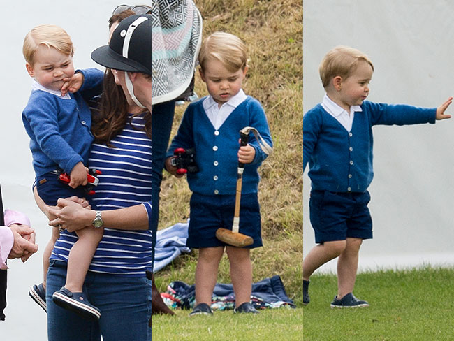 Proof Prince George hates polo, loves balconies, is adorable