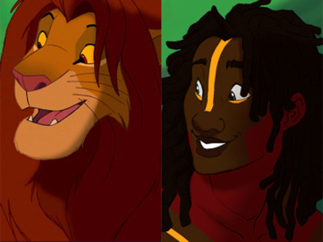 Disney animals have now been reimagined as humans