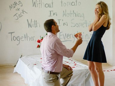 8 romantic marriage proposals that would be better with pizza