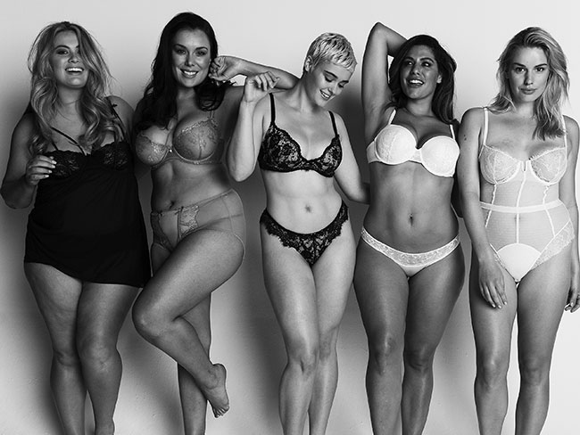 Five plus-size models get real about body image
