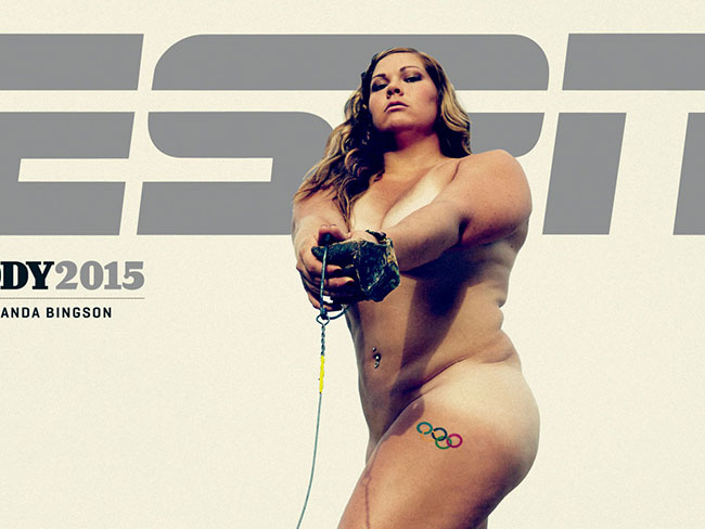 These athletes strip off for ESPN's body issue and it's hella inspiring