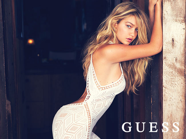 Win an ultimate GUESS shopping experience with Gigi Hadid!