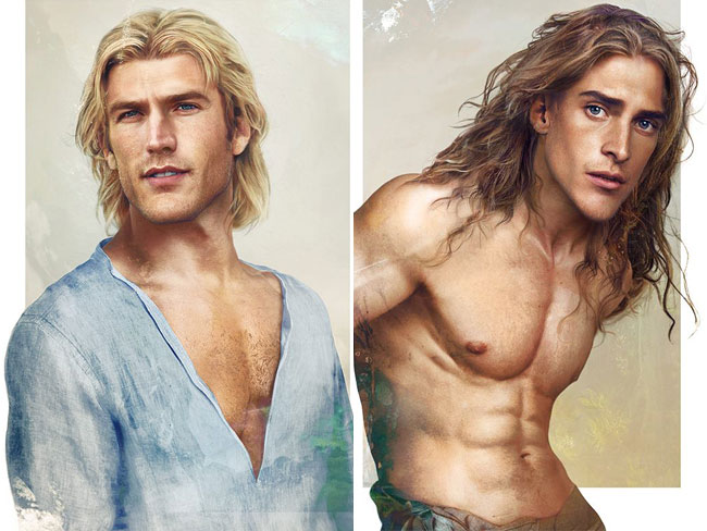 If Disney princes were perfect real-life men