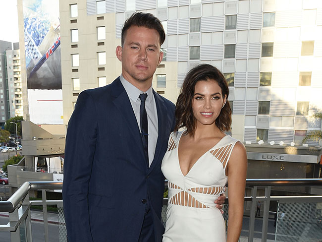 Channing Tatum and Jenna Dewan Tatum talk about making babies