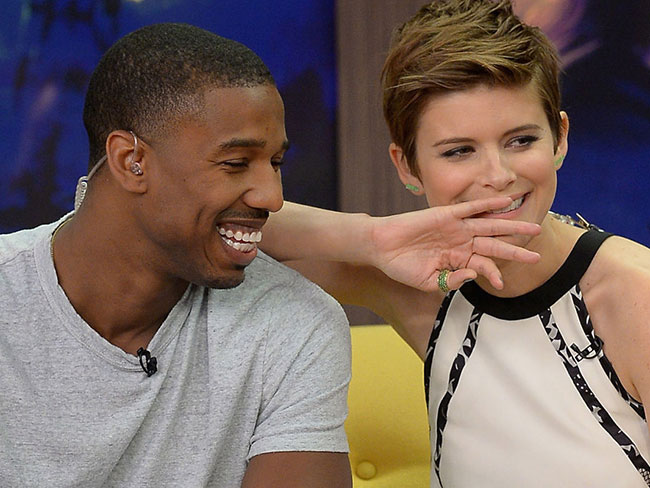 Kate Mara and Michael B. Jordan just had a hella awkward Fantastic Four interview