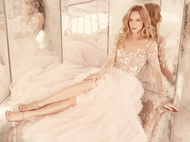 18 stunning wedding dresses with long sleeves
