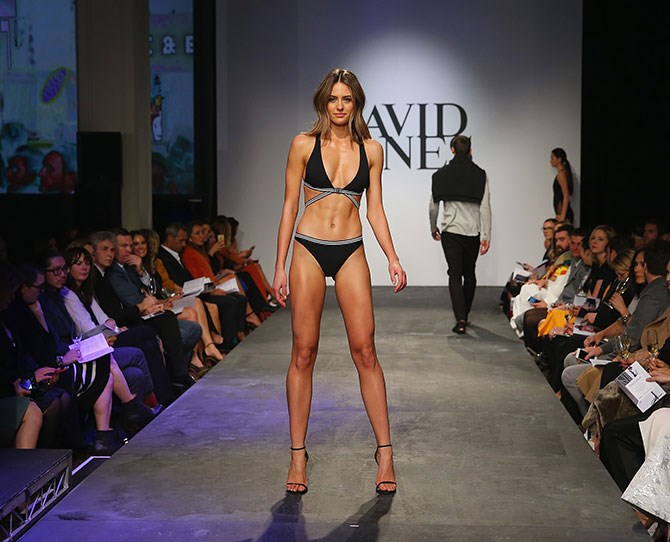 "The always baben Jesinta Campbell BOSSED the runway at yesterday's David Jones Spring/Summer 2015 launch. This Bec & Bridge bikini is now firmly on our summer wish list. As are THOSE ABS.   [Related video: Jesinta Campbell shows you how to work out in winter](http://www.cosmopolitan.com.au/health-lifestyle/fitness-advice/2015/6/winter-workout-video-jesinta-campbell/|target=""_blank"")"