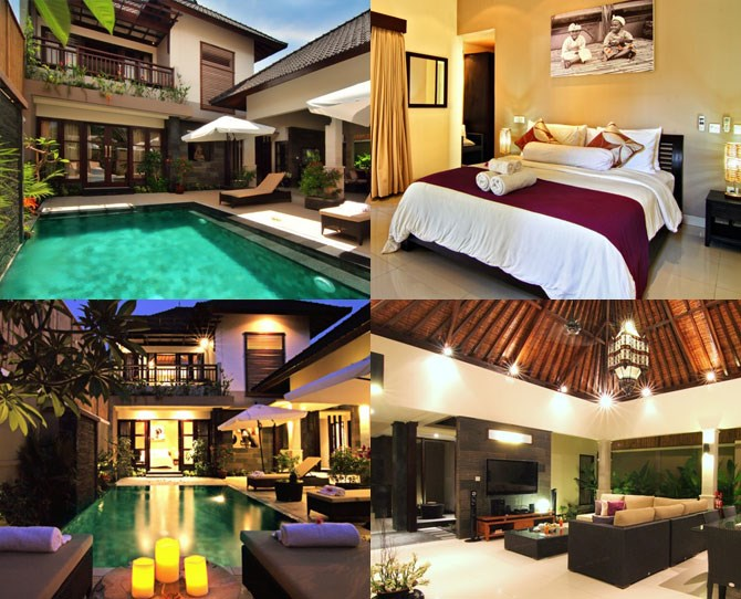 "**For the couple who likes to holiday with other couples… ** ***[Gili Pearl Villa](http://www.gilipearlvilla.com/|target=""_blank""): Gili Trawangen (prices from $300 per night for the whole villa)*** This three bedroom villa on the most happening of the Gili Islands is set back from the main strip and has high walls around the outskirts, which means you get the feeling of total privacy while actually only a stone's throw from all the action. The living room and kitchen, while under-cover, are really outside and right next to the pool, making the pad perfect for socialising, entertaining and making the most of Bali's awesome weather."