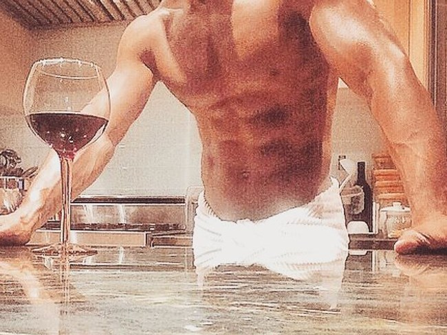 Hot guys with wine is the ultimate sexy combo