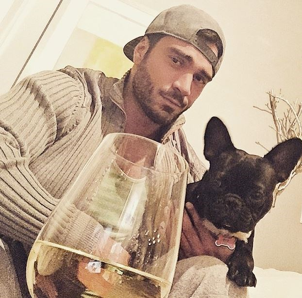 """Nawwww... backwards caps, French bulldogs and bevvies. """"I do!"""". Too soon?"""