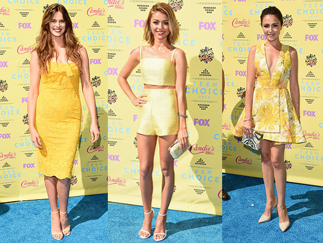All the hottest looks from the Teen Choice Awards 2015