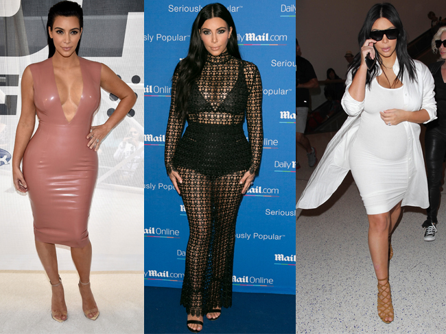 24 times Kim Kardashian's maternity wardrobe game was STRONG