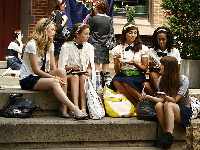 17 fashion lessons we learnt from Gossip Girl