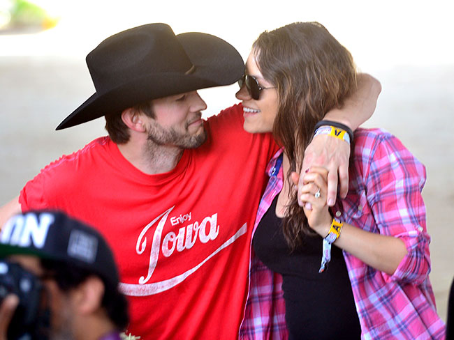 Ashton Kutcher gave Mila Kunis a vibrating friend for her birthday